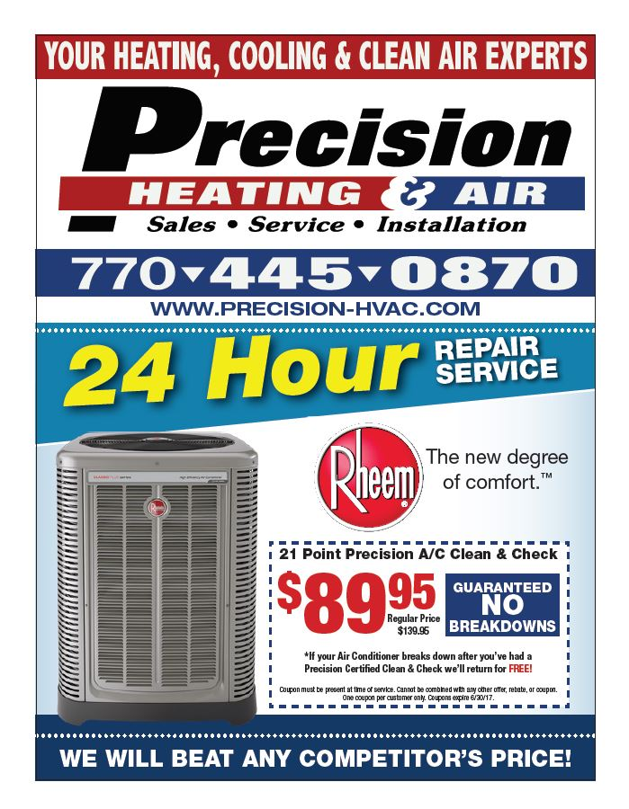 Dallas, Georgia Air Conditioning & Heating Special