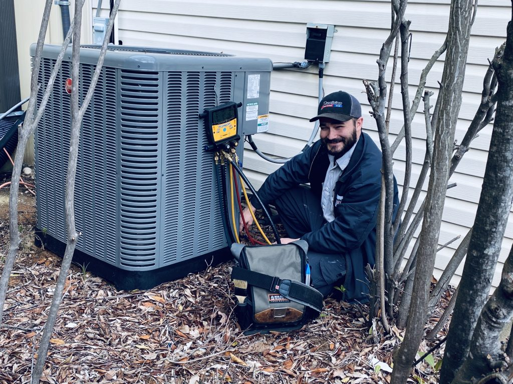 Scottie Streetman Precision Heating and Air Employee of the Month - Dallas, Georgia
